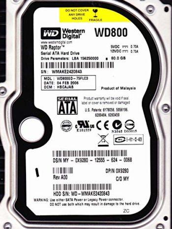 WD800GD