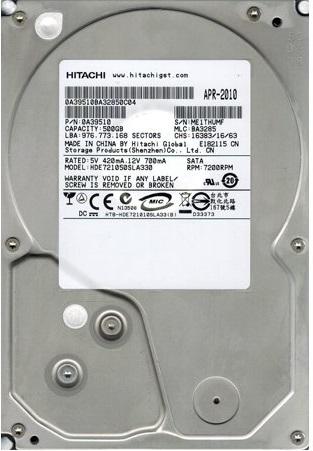 HDE721050SLA330