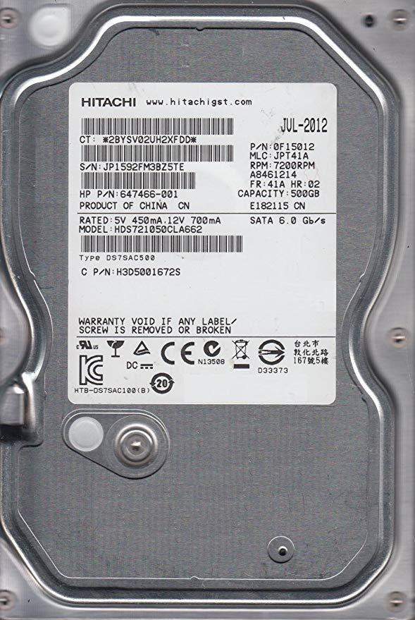 HDS721050CLA662