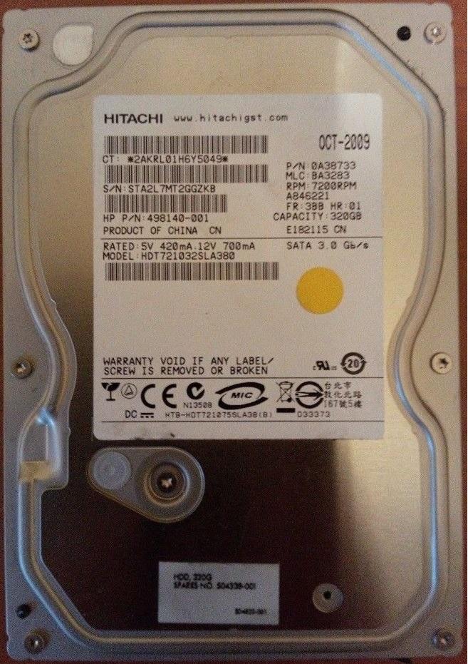 HDT721032SLA380