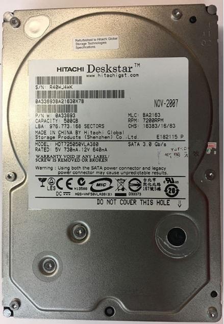 HDT725050VLA380