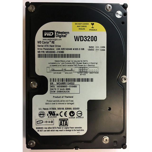 WD3200SD