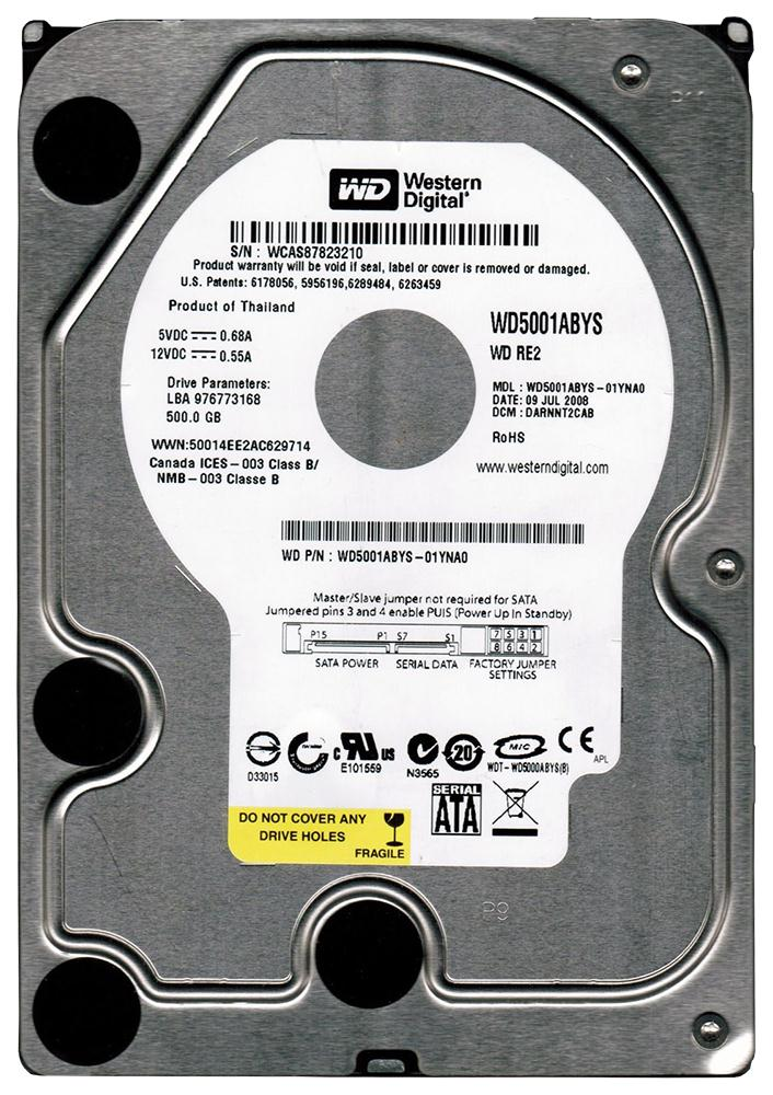 WD5001ABYS