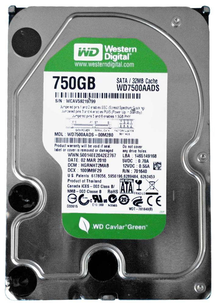 WD7500AADS