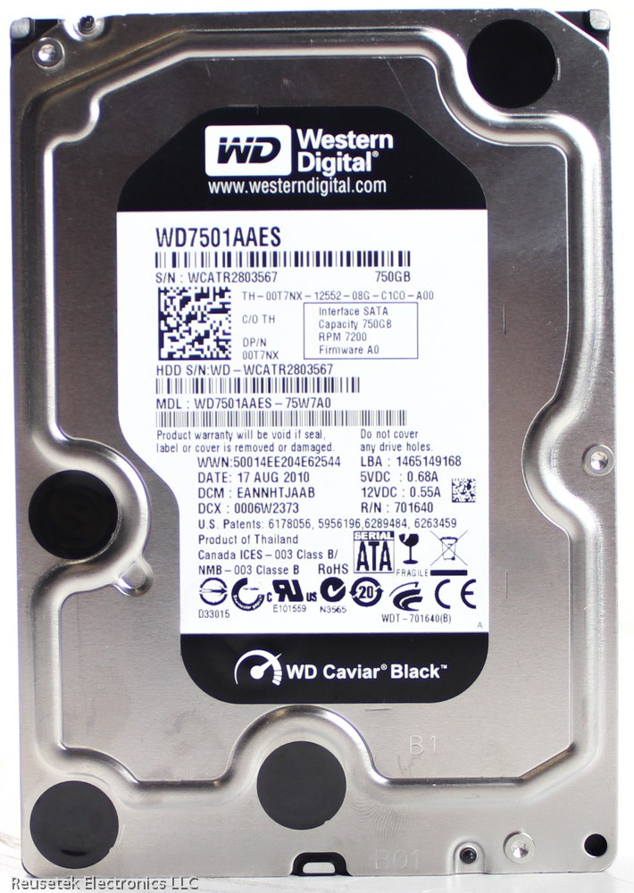 WD7501AAES