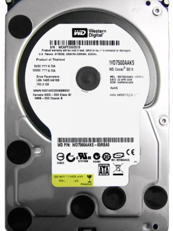 WD7500AAKS