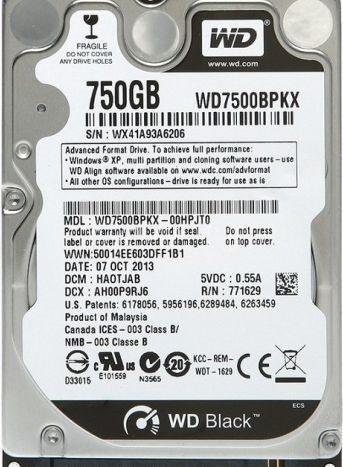 WD7500BPKX